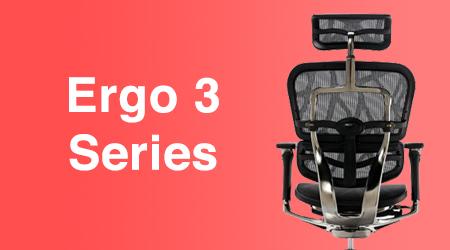 เก้าอี้เพื่อสุขภาพ เก้าอี้สุขภาพ Ergo 3 series